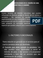 3.- caminos  factores