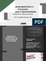 Empreendedorismo e Economia - Ameaças e oportunidades