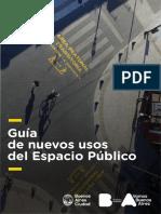 Guía nuevos usos del espacio público