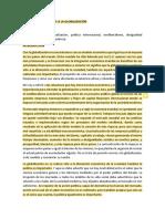 AMÉRICA LATINA FRENTE A LA GLOBALIZACIÓN LECTURA AGOSTO 19 2020