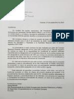 Comunicación a Borrell Sept. 2