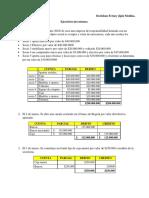 EJERCICIO INVENTARIOS Y INVERSIONES