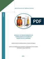 Manual de Preenchimento - FP Produtos de Cannabis - 1º edição