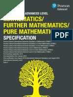 Math spec (as)
