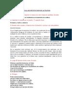 RITUAL DE INSTITUCION DE ACÓLITOS