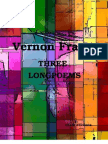 Vernon Frazer - THREE LONGPOEMS