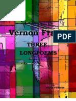 Vernon Frazer - THREE LONGPOEMS