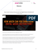 How much money can you earn by Digital Music Distribution_ _ Digitunes Media