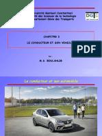 Chapitre 3 Le vehicule
