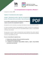 Clase 6_Cossi_Herramientas para un acompañamiento terapéutico. Módulo 1