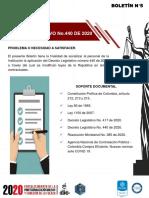 BOLETÍN JURÍDICO CONTRATACIÓN PÚBLICA FRENTE AL COVID 19