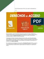 Qué significa el Acuerdo de Escazú para el Perú y por qué es importante su ratificación