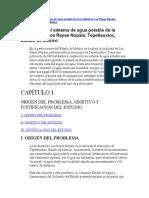 N° 2-Ampliación del sistema de agua potable de la localidad de Los Reyes Nopala, Tepetlaoxtoc, Estado de México