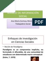 4 Enfoques de investigación social