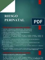 RIESGO PERINATAL