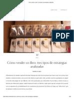Cómo vender un libro_ tres tipos de estrategias analizadas.pdf