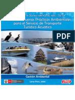 Manual de transporte turístico acuático