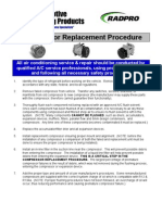 compressor_replacement_procedure