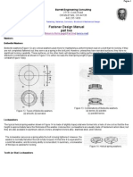 Fastener Design Manual -- Part Two