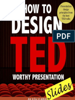 How to design TED worthy presentation slides