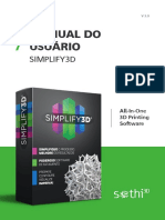 V 3.0 MANUAL DO USUÁRIO SIMPLIFY3D. All-In-One 3D Printing Software.pdf