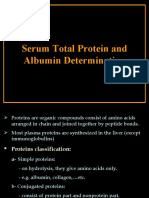 Plasma proteins (Lab.)