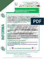 RECONOCIMIENTO MÉDICO OPERATIVO DE PREVENCIÓN Y EXTINCIÓN DE INCENDIOS