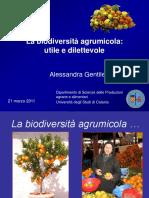 La biodiversità agrumicola - utile e dilettevole - Anisn
