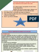 2do SEC. MANIFESTACIONES CULTURALES INCAS