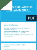 El proceso laboral en Catamarca - DRA. ANALIA VERA