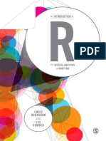 Libro 2. An Introduction to R for Spatial Analysis and Mapp