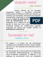 Comunicacion movil Castells & Isidro Moreno