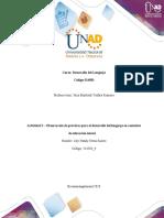 Actividad 3 – Observación de prácticas para el desarrollo del lenguaje en contextos de educación inicial