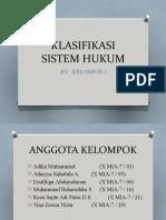 KLASIFIKASI SISTEM HUKUM.pptx