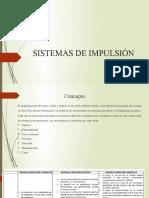 SISTEMAS DE IMPULSIÓN