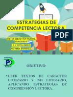 NOVENA ENTREGA- ESTRATEGIAS DE COMPRENSIÓN LECTORA 1 Y 2 NIVEL