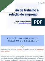 3 - Requisitos para caracterização do contrato de trabalho