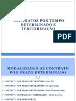 8 - Terceirização e contrato temporário