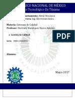 Gestion de Calidad (GSA)