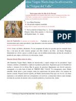 Quinto dia - Novena a la Virgen del Valle 2020