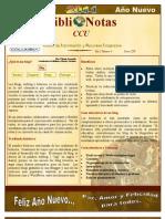 BiblioNotas CCUC enero 2011