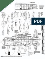 dornier 335 fuselage and templates