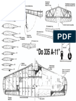 dornier 335 wing and templates