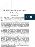 Paul Foster Case - The Secret Doctrine of the Tarot