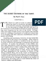 Paul Foster Case - The Secret Doctrine of the Tarot