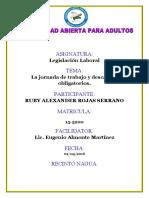 Actividad III Legislacion Laboral Ruby Alexander Rojas