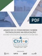 Anais CTRLE+E 2018