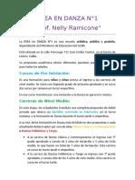 """05. ESEA en Danza N° 1 """"Prof. Nelly Ramicone"""""""