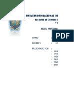 Características de organizaciones jurídica final