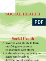 Social-Health Lesson Plan